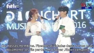 6th gaon chart music awards mc leeteuk 이특 cut legendado pt br