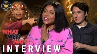 Taraji P. Henson And The 'What Men Want' Cast On Improv, Mel Gibson And More