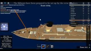 Titanic goes under! | ROBLOX on English