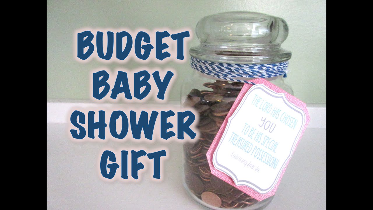 Budget thoughtful baby shower gift youtube budget thoughtful baby shower gift negle