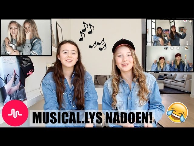 3 BESTE MUSICAL.LYS NADOEN VAN LISA AND LENA!