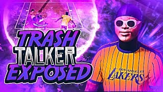 So I Decided To 1v1 A TRASH TALKER On NBA 2K19 Best Dribble Moves! Best Build!