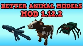 Minecraft Animals Mod 1 12 2