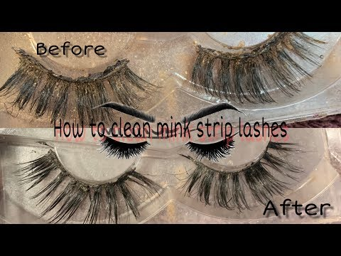 How to clean you favorite Mink Lashes Aggie Jay
