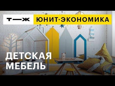 Юнит-экономика: детская мебель по мотивам европейской архитектуры