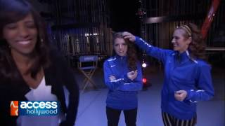 Anna Kendrick and Brittany Snow Pitch Perfect 2 Interview