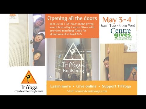 TriYoga Central Pennsylvania 2016 Centre Gives Campaign