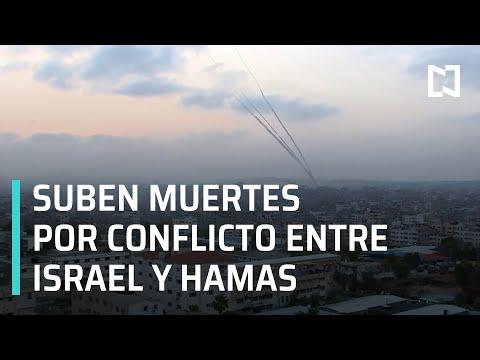 Conflicto entre Israel y Hamas | Hamas lanza misiles a Tel Aviv - En Punto