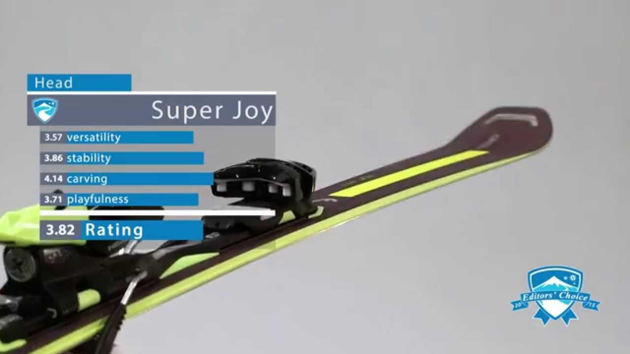 2015 Head Super JOY - Ski Review
