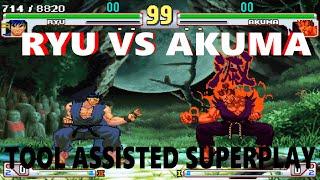 [TAS] - Street Fighter III: 4rd Strike Arranged Edition - Ryu Vs. Akuma