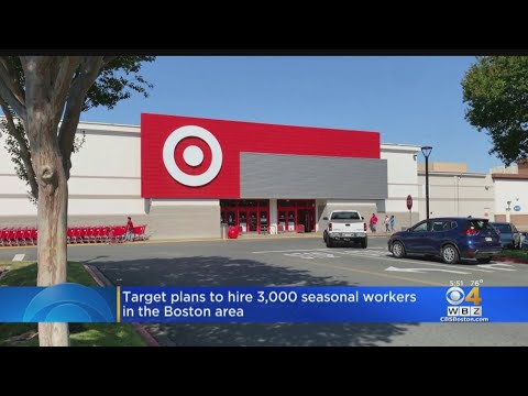 Target Plans To Hire 3,000 Seasonal Workers In The Boston Area