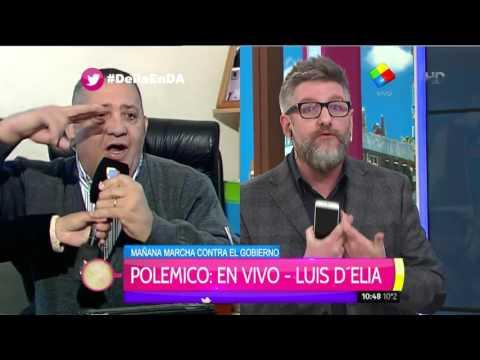 El exabrupto de Luis DElia que ofendió a Pamela David