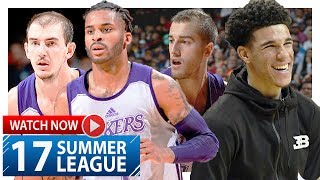 Alex Caruso, Vander Blue & Matt Thomas Highlights vs Trail Blazers (2017.07.17) Summer League - EPIC
