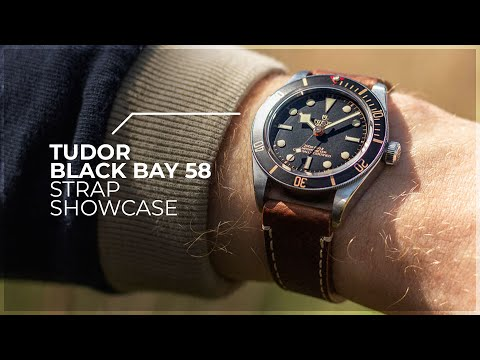 The Perfect Strap Combos? - Tudor Black Bay 58 Diver Strap Showcase By WatchGecko