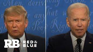 Trump and Joe Biden clash in first presidential debate