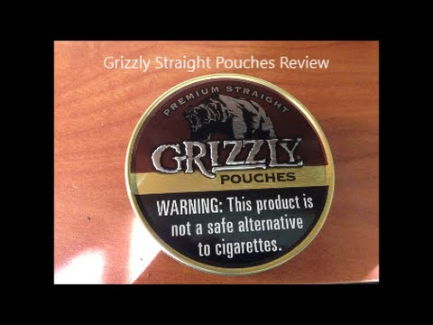 Grizzly Straight Pouches Review