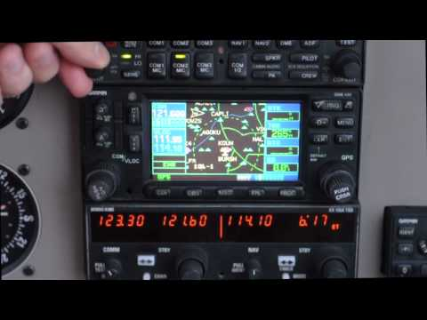 OU Aviation Training Series - Using the Radios in the Piper Warrior III