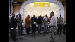 """Men in White Choir - Timothy Wright - """"What He's Done For Me"""""""