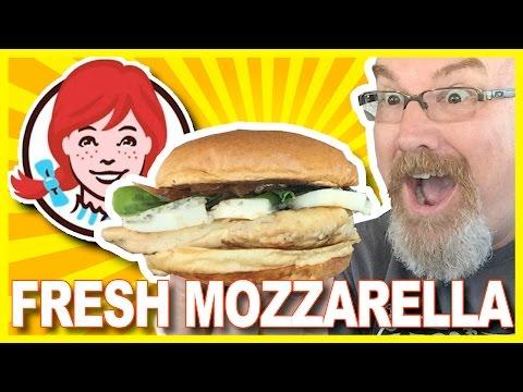 Wendy's Mozzarella Grilled Chicken Burger Review