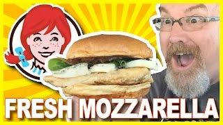 wendy s mozzarella grilled chicken burger review