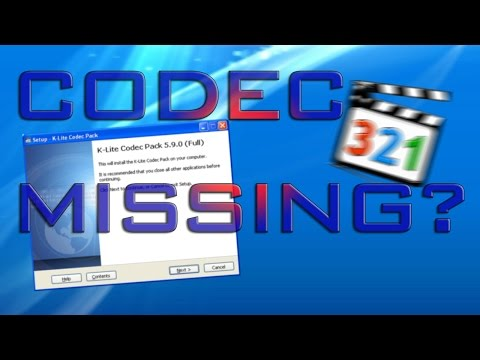 How to fix all Codec missing