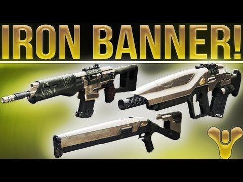 Destiny 2. SEASON 2 IRON BANNER WEAPONS! (New Masterwork Iron Banner Weapons)