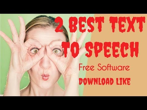 Text To Speech 2 Best Mp3 Audio Software Free Download Like