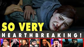 Gamers Reactions To Seeing What Happens To Joel In The Last Of Us Part 2 | Mixed Reactions