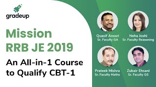Mission RRB JE 2019: An All-in-1 Course to Qualify CBT-1