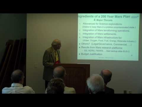 Mike Helton -  Mars a 200 Year Plan - 19th Annual International Mars Society Convention