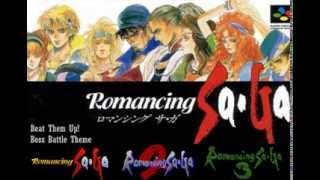 Romancing Saga Series' Battle Music Collection