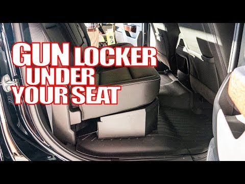 Secure Your Things - Tuffy Under Seat Lockbox