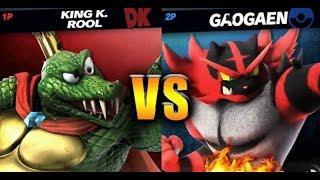 King K. Rool vs Incineroar
