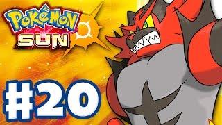 Pokemon Sun and Moon - Gameplay Walkthrough Part 20 - Torracat Evolves! INCINEROAR! (Nintendo 3DS)