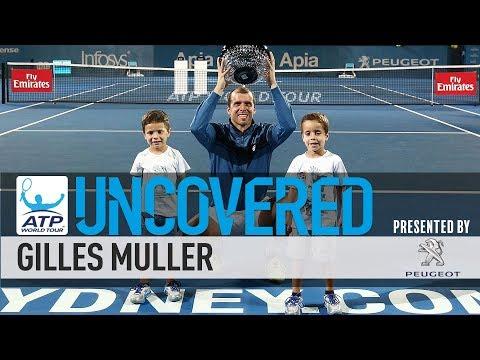 Gilles Muller Uncovered 2017