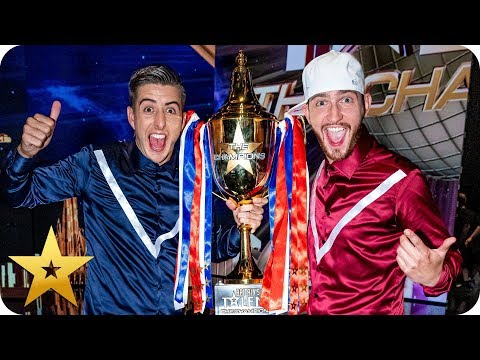 Twist and Pulse are the winners of BGT: The Champions!