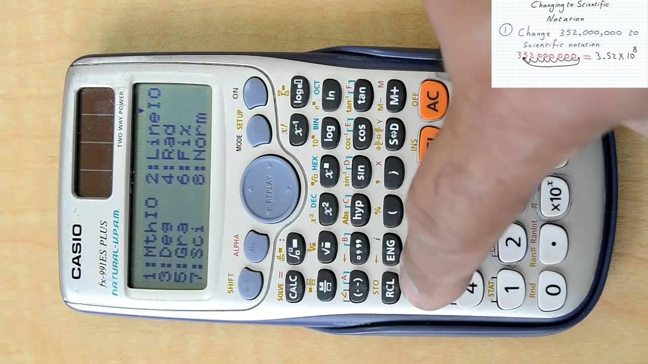 Changing between scientific notation decimals youtube changing between scientific notation decimals falaconquin
