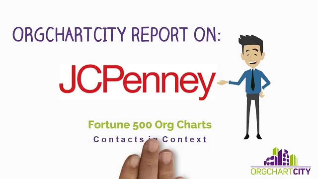penney org charts video by orgchartcity also youtube rh