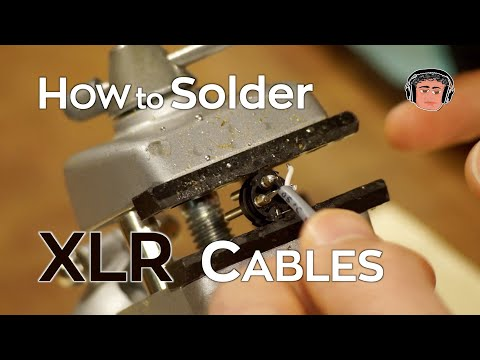 How to Solder XLR Cables