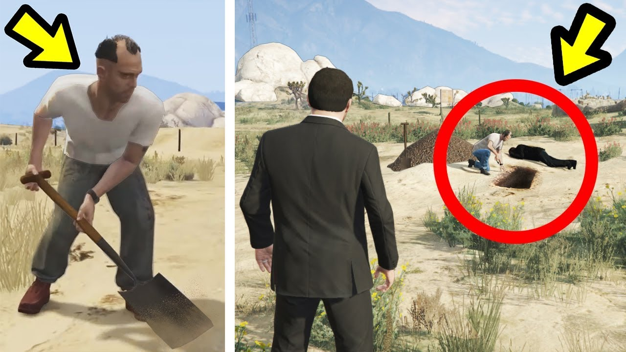 Gta  I Found What Trevor Buried In Sandy Shores