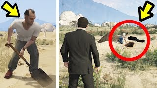 GTA 5 - I Found What Trevor Buried in Sandy Shores