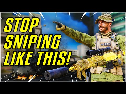 YOU'RE SNIPING WRONG - Be The Warzone Sniper Your Teammates Actually Want! [Warzone Academy Applied]