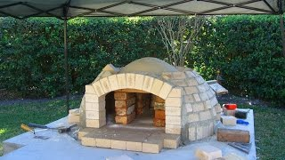 How To Build A Wood Fired Pizza Oven/bbq Smoker Combo - Detailed Instruction - Pt. 2