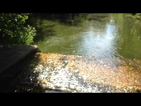 wishing pond at leeds castle.