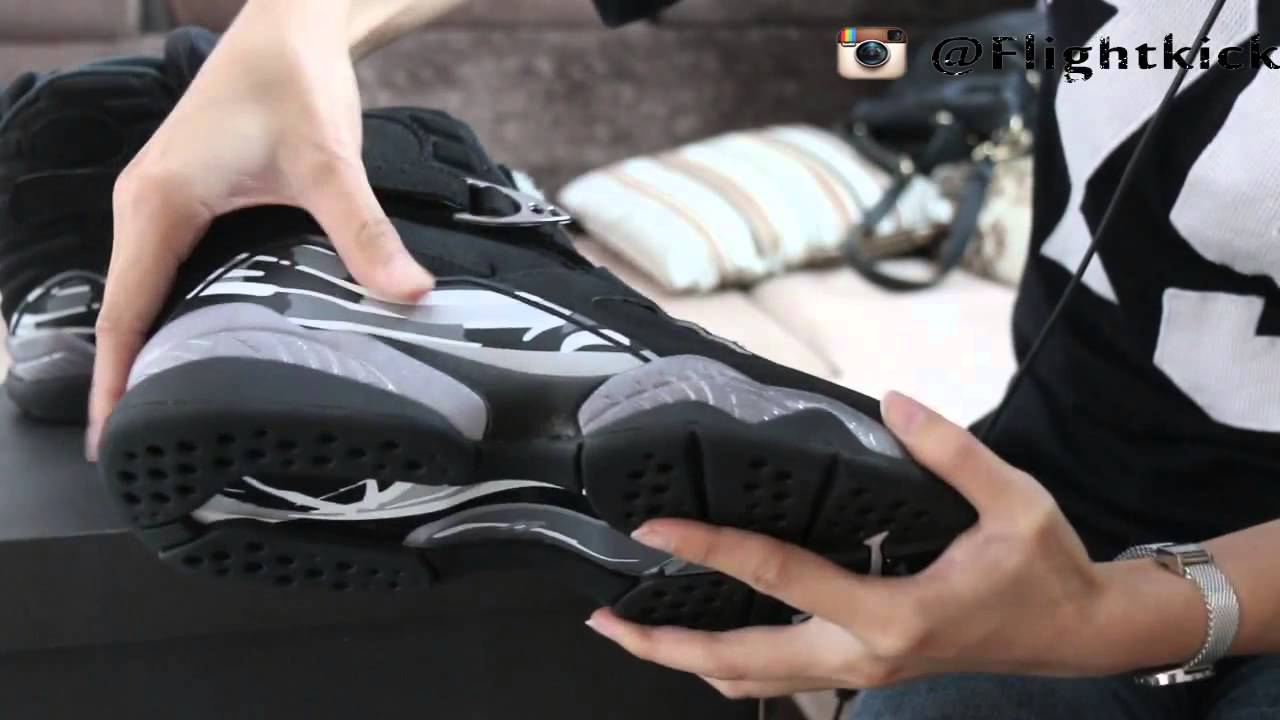 1c95412768ab Air Jordan 8 Retro Chrome 2015 - YouTube