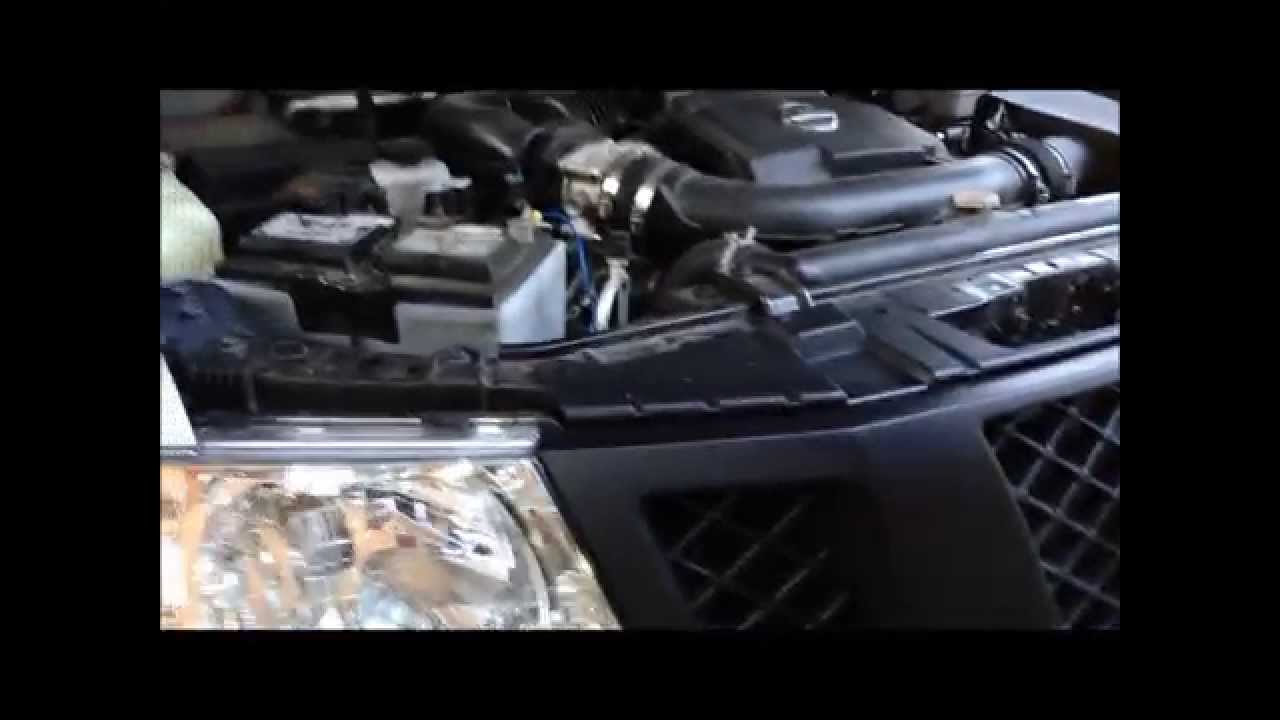 How To Remove Or Install Nissan Frontier