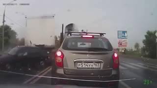 Dash Cam very shock car crash fatal accident on road