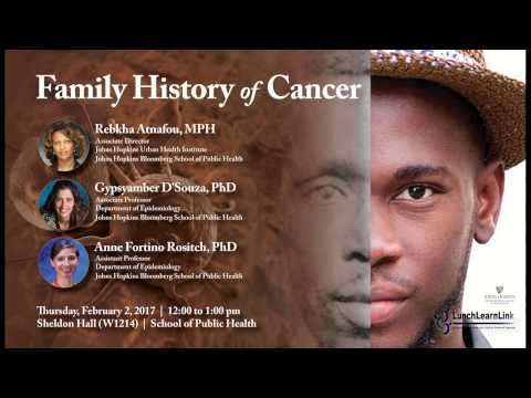 Family History of Cancer