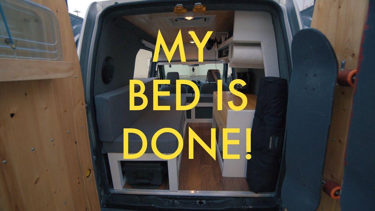 Custom Bed In A Van