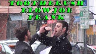 Toothbrush Blowjob Prank